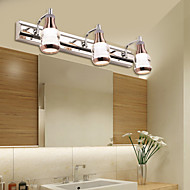 LED פמוטי קיר / תאורת חדר אמבטיה , מודרני/עכשווי משולב לד מתכת