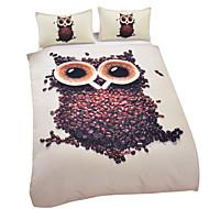 Owl Duvet Cover Set 3D Bedding Set Twin Full Queen King