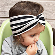 Kid's Cute Stripe Knot Elastic Headband