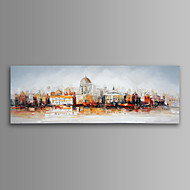 Paesaggio / Architettura / Moderno Print Canvas Un pannello Pronto da appendere , Orizzontale
