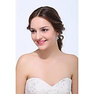 Stud Earrings Women's Silver / Alloy Earring Rhinestone / Cubic Zirconia