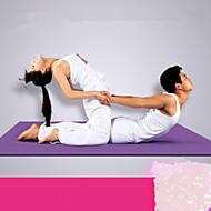 PVC Yoga Mats 183*122*0.6 Extra Longo / Pegajoso / Ecológico / Non Toxic / Extra Grande / à prova d'água 6 mmVermelho / Azul / Verde /