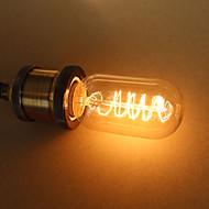E27 25W t45 em torno do edison sed arte retro lâmpada