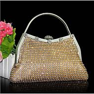 Žene Druge vrste kože Večernja torbica Zlatna / Srebrna / Crna
