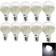 youoklight® 10PCS E27 9W 15*SMD5630 700LM 6000K Cool White Light LED Globe Bulbs (AC220V)