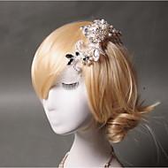 Women's Rhinestone / Imitation Pearl / Net Headpiece - Wedding / Special Occasion / Casual Hair Combs 1 Piece