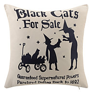 Halloween Print Modern Polyester Pillow With Insert