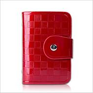 Фиолетовый / Желтый / Красный / Черный - Визитница / бумажник - Для женщин - Яловка - На каждый день