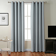 High Quality Zac Collection Classic Diamond Soft Handfeel Window Curtain Shade One Panel