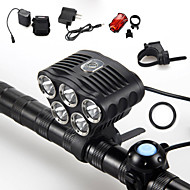 5 Mode 6000 Lumens Headlamp 18650 Waterproof LED Cree XM-L T6
