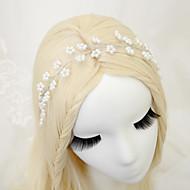 Dame / Blomsterpige Legering / Imitert Perle Headpiece Bryllup / Spesiell Leilighet Pannebånd Bryllup / Spesiell Leilighet 1 Deler