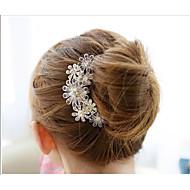 Dame Rhinestone / Krystall / Legering Headpiece Bryllup / Spesiell Leilighet Hårkammer Bryllup / Spesiell Leilighet 1 Deler