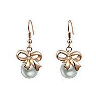 Drop Earrings Women's Imitation Pearl Earring Imitation Pearl