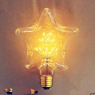E27 2 watty star star Edison Hotel der bar dekorativní žárovka 110v220v