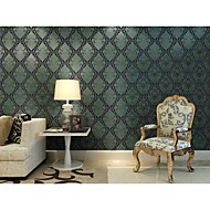 Arttop®Titian Floral Wallpaper Classical Wall Covering , Non-woven Paper Phantom Soundproof Non-Woven 3D Wallpaper