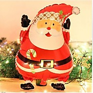 "18"" Santa Claus Al film Balloon Holiday Birthday Party Christmas Decorated New Year Ballon"