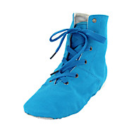 Women's / Men's Dance Shoes Belly / Ballet / Dance Sneakers Fabric Flat Heel Blue
