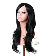 Capless Black  Long High Quality Natural Curly Synthetic Wig