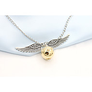 Harry Potter Golden Snitch Bludger Wings Necklace