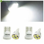 4 x T10 149 168 W5W 4 x SMD 3528 LED  6500K  Car Tail Light  / Instrument Lamp  DC12V