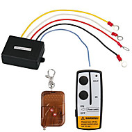 12V 50ft Wireless Remote Control Set for Truck Jeep ATV Winch