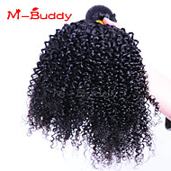 """3pcs / lot 8 """"-30"""" Braziliaanse maagdelijke haar kinky krullend onbewerkt brazilian virgin hair brazilian haar bundels"""