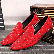 Men's Shoes Amir New Style Hot Sales Wedding / Night Club & Party Leather Oxfords Black / Red