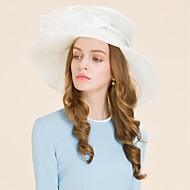 Women's Organza Headpiece-Wedding Special Occasion Casual Outdoor Hats 1 Piece