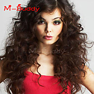 "10""-26"" India Virgin Hair Wavy  Full Lace Wig&Lace Front Wig Multicolor optional  With Baby Hair for  Women"