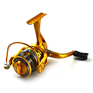 Golden Color Spinning Reels 5.5:1   10Ball Bearings Exchangable handle Sea Fishing/Spinning GSG3000