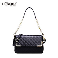 HOWRU ® Women 's PU Tote Bag/Single Shoulder Bag/Crossbody Bags-Black