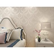 Arttop®Dior Floral Wallpaper Classical Wall Covering , Non-woven Paper Phantom Soundproof Non-Woven 3D Wallpaper