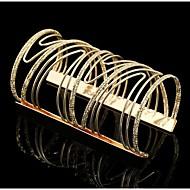 Armreife 1 Stück,Goldfarben / Silber Armbänder Aleación Schmuck Damen