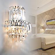 Lâmpadas de Parede Cristal Moderno/Contemporâneo Aço Inoxidável
