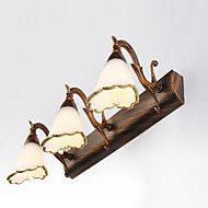 Mini Style Bathroom Lighting,Rustic/Lodge E12/E14 Metal