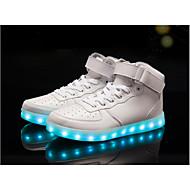 leidde de schoenen hoog geleid licht lichtgevend schoenen usb opladen mode sneakers