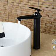 American Standard Centerset Single Handle One Hole in Oil-rubbed Bronze Bathroom Sink Faucet