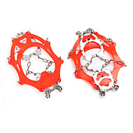 12 Stainless Steel Gear Bump Outdoor Winter Snow Shoes, Mountaineering Shoes Crampons Set And Crampons AT8606