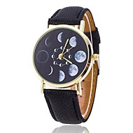 Moon Phases Watch, Fashion Unisex Watch, Women's Watch, Men's Watch, Analog, Gift Idea, Astronomy, Space, Gift for Men Cool Watches Unique Watches