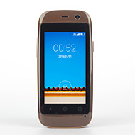 "Elephone MT6572 ≤3 "" Android 4.4 3G-Smartphone (Single SIM Dual Core 2 MP 512MB + 4 GB Schwarz / Rosa / Weiß / Braun)"