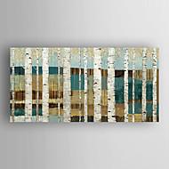 Ručně malované Abstraktní krajinkaModerní Jeden panel Plátno Hang-malované olejomalba For Home dekorace