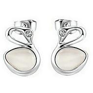 Stud Earrings Women's Alloy Earring Opal