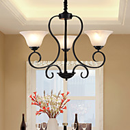 Ecolight™ 3 Lights Retro Chandeliers/ Country Living Room / Study Room/Office / Hallway Metal