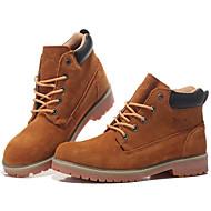 מגפיים גברים של נעליים שטח / משרד ועבודה / ספורט / Work & Duty / קז'ואל סוויד חום / חאקי