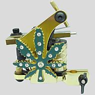 3pcs estilo al azar de diamantes de oro decoración de cristal de la máquina del tatuaje (color)
