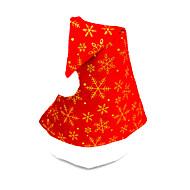 pleuche płaskim cap Santa Claus kapelusz, kolor losowo