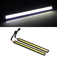 2*2W COB LED Daytime Running Lamp Light DRL Car Truck Driving White Yellow
