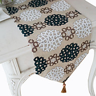 Dandelion Pattern European Style Table Runner