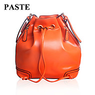 Paste® Hot Selling Vintage Design Women Real Leather Bucket Bag