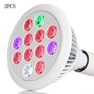 2 stuks morsen® 36W E27 geleid licht groeien lampen volledige spectrum geleid planten groeien lamp voor planten hydrocultuur